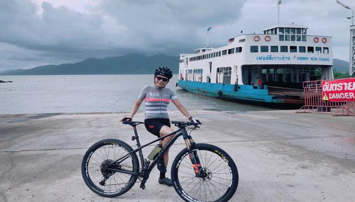ปั่นจักรยานรอบเกาะช้าง