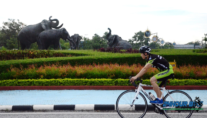 ปั่นจักยาน ตัวเมืองเชียงใหม่ หมู่บ้านแม่กำปอง
