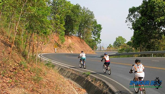เส้นทางจักรยาน ตัวเมืองเชียงใหม่ ดอยสุเทพปุย