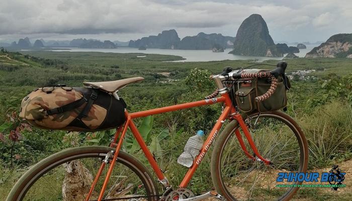 เส้นทางปั่นจักรยาน คุระบุรี เสม็ดนางชี