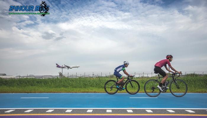 Sky lane สุวรรณภูมิ เส้นทางปั่นจักรยาน ที่ควรลองไปเยือนสักครั้ง