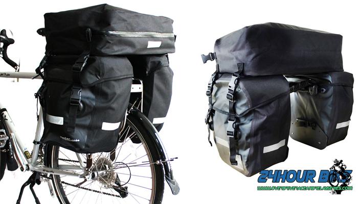 กระเป๋าจักรยานทัวร์ริงBack Bag และ EB 02 กระเป๋าจักรยานบนหลังตะแกรง
