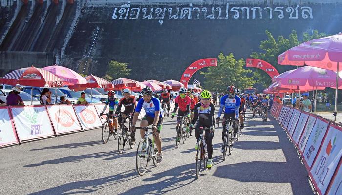 ปั่นจักรยาน กรุงเทพฯ เขื่อนขุนด่านปราการชล