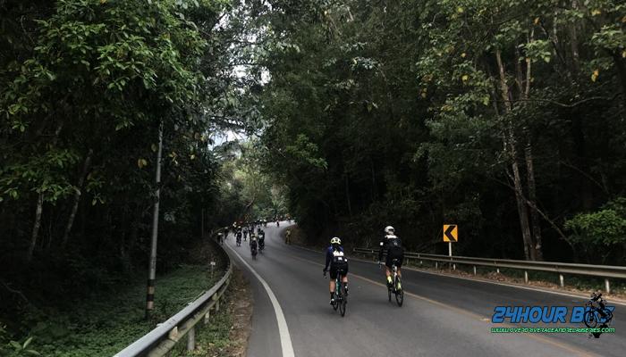 เส้นทางจักรยานจากดอยอินทนนท์ แม่แจ่ม อ่างน้ำออกฮู