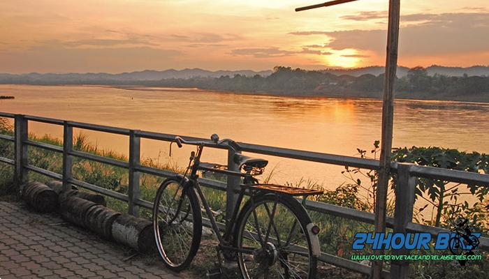 เส้นทางปั่นจักรยานเชียงคาน หนองคาย