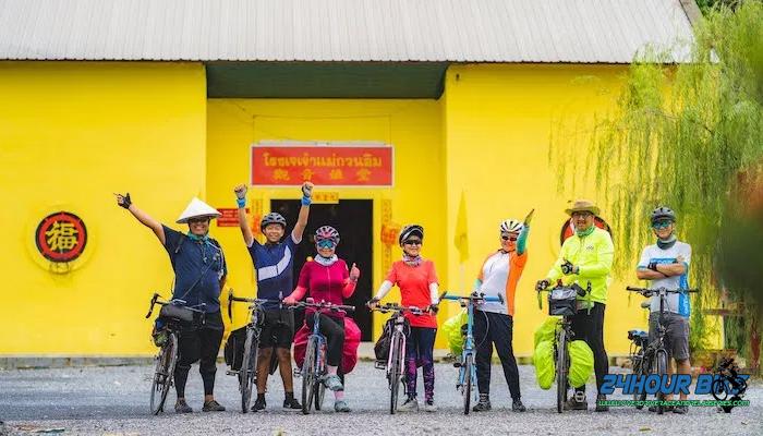เส้นทางปั่นจักรยาน นครปฐม ราชบุรี สมุทรสงคราม