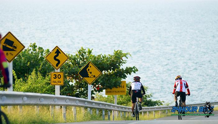 เส้นทางปั้นจักรยานเฉลิมบูรพาชลทิต (เส้นทางเลียบอ่าวคุ้งกระเบน)