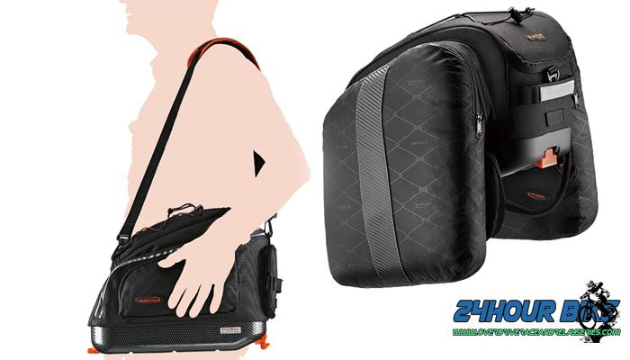 รีวิวกระเป๋าทัวร์ริ่งรุ่น IBERA PakRak Expandable Commuter Bag