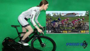สราวุฒิและเพชดารินทร์ 2 นักจักรยานไทยคว้าแชมป์ปั่นออนไลน์
