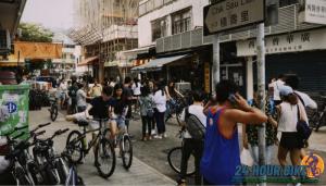 ปั่นเที่ยวฮ่องกงด้วยการเช่าจักรยาน เส้นทางปั่นยอดนิยมในแนวนี้ก็คือเส้นทางปั่นจักรยาน ไท่หวาย -–่เหมยทุก เป็นเส้นทางที่การจราจรไม่แออัด