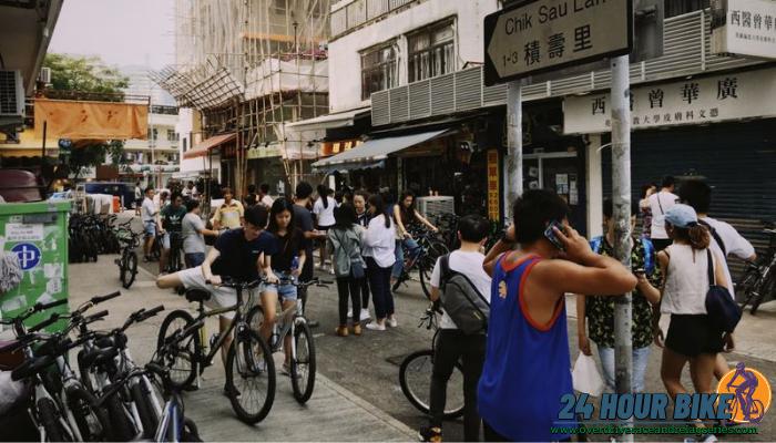 ปั่นเที่ยวฮ่องกงด้วยการเช่าจักรยาน