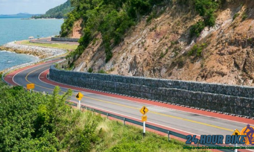 เส้นทางปั่นจักรยานเลียบชายหาดคุ้งวิมาน แบบท้าทายที่จันทบุรี