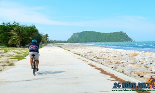 เส้นทางการปั่นจักรยาน ที่ สัตหีบชลบุรี