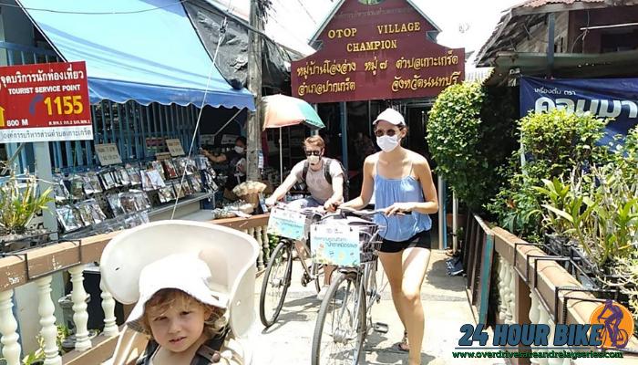 เส้นทางการปั่นจักรยาน ที่เกาะเกร็ด นนทบุรีถ้าคุณกำลังมองหา เส้นทางปั่นจักรยานที่อยู่ไม่ไกลจากกรุงเทพ คือที่ เกาะเกร็ดนนทบุรี