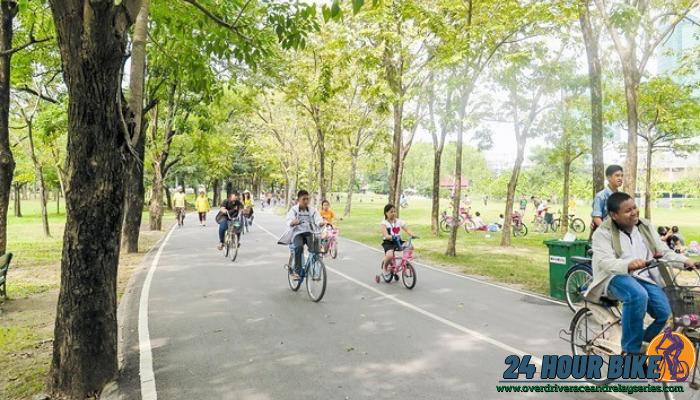 สถานที่ปั่นจักรยาน ในเมืองกรุงเทพมหานครที่บรรยากาศดี วิวสวย สุขภาพเป็นเรื่องใกล้ตัวเรา เพราะร่างกายจะอยู่กับตัวเราไปตลอดชีวิต
