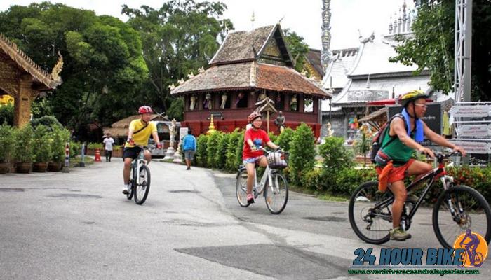 ปั่นจักรยานเที่ยว พระพุทธบาทสี่รอย เชียงใหม่ สำหรับจังหวัดเชียงใหม่นั้นนอกจากจะเป็นหัวเมืองใหญ่ที่น่าท่องเที่ยวก็ยังเป้จังหวัดที่นักปั่น